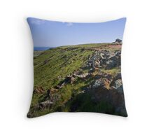 Moresby Ranges - western edge Throw Pillow
