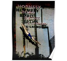 Hornsey Road Baths & Laundry  Poster