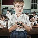 School Daze - Nerd by Alicia Adamopoulos