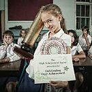 School Daze - Over-Achiever by Alicia Adamopoulos