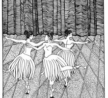 Ladies Dancing by Lenora Brown