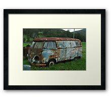 Mothership in Decay - NSW Framed Print