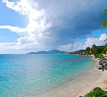 Esperanza Beach and town by marcy413
