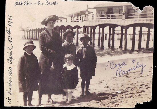 Redondo Beach, 1921 by Nadya Johnson