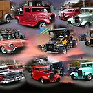 Hot-Rod Collage!!! by Heabar