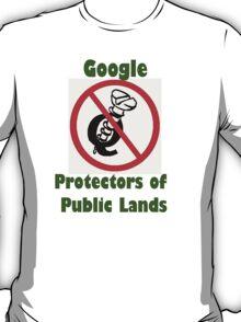 4Q T-Shirt . Style T5 Google Protectors of Public Lands T-Shirt