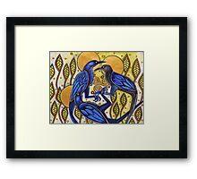 Three Ravens Framed Print