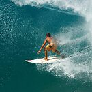 Surfing Honolua Bay .... by M-Pics