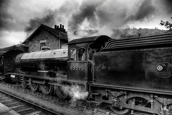 Steam Engine No.63395 by Trevor Kersley