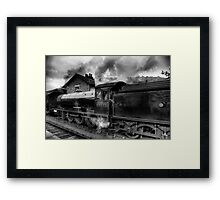 Steam Engine No.63395 Framed Print