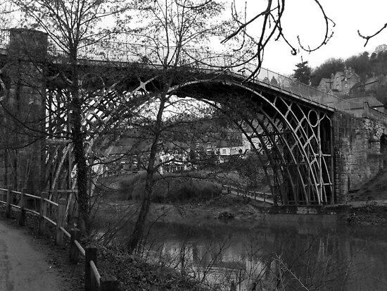 Visions of The worlds First Ironbridge Shropshire. by Lawson Clout