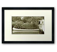 Old Town Canoe Framed Print
