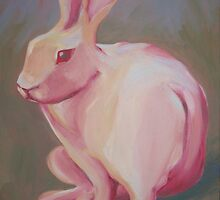 Miss Rose:  A White Rabbit Lost in Thought by Lisa Jasak