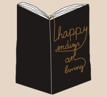 happy endings are boring. by owlontree