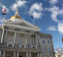 Daniel Webster and the State House by AntonLee