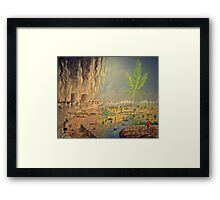a tale of two cities  Framed Print