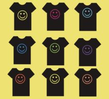 Smiley T-Shirt by simpsonvisuals