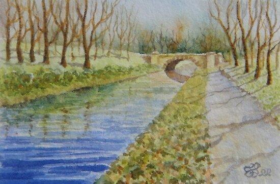 Miniature Series  ''A Bridge Too Far'' by Fiona  Lee
