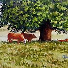 Miniature Series  ''Bovine Bliss'' by Fiona  Lee