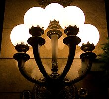 Sconce Bouquet by ElyseFradkin