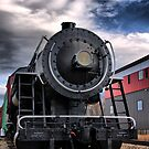 Locomotive in HDR by Edward Myers