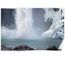Base of Snoqualmie Falls Poster