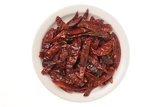 Indian Red Hot Peppers by AravindTeki