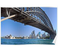 Icons of Sydney Poster