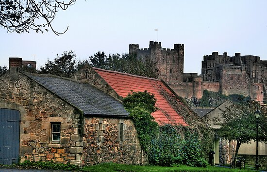 """""""Of Castles and Cottages"""" by Bradley Shawn  Rabon"""