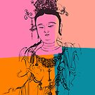 Retro Buddha by buddhabubba