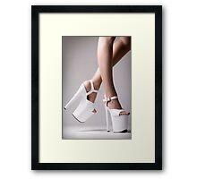 Platform Heels Framed Print