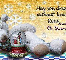 """Rosa&Mr.Bean Best Wishes for 2010"" by RosaCobos"