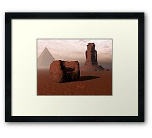 Once Upon A Place Framed Print