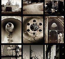 Hunsdon Airfield - (Montage) by MoGeoPhoto