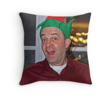 Santa's Favorite Elf Throw Pillow