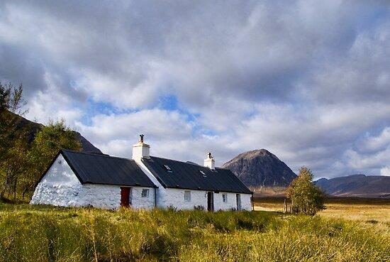 Blackrock Cottage, Glencoe by Claire Tennant