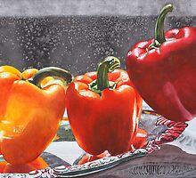 Bell Peppers by soonywarren