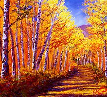 Aspen Mountain Road by sesillie