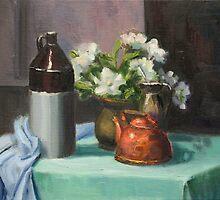 Drinking Flowers by Inna Lazarev