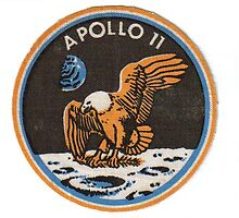 Apollo 11 badge by Allen  Anderson