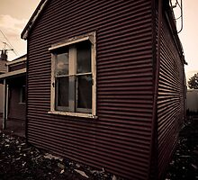 haunted house by Mike Turner
