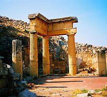 Solunto. Temple Ruins. Sicily, Italy 2005 by Igor Pozdnyakov