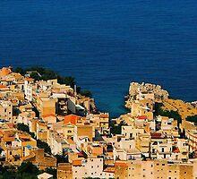 Santa Flavia. Bird's Eye View. Sicily, Italy 2005 by Igor Pozdnyakov