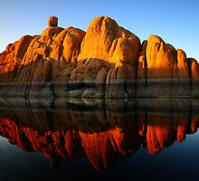 Reflection Rock by Bob Larson