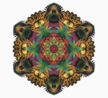 Fractal Mandala Kids Clothes