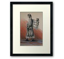 The Gatherer Framed Print