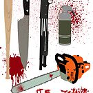 It's Zombie Killin' Time by DesignStrangler