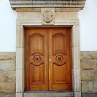 Heavy wooden doors by fourthangel