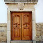 Heavy wooden doors by fourthangel