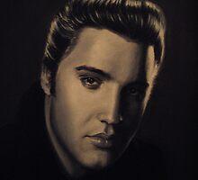 Elvis Presley by kinch